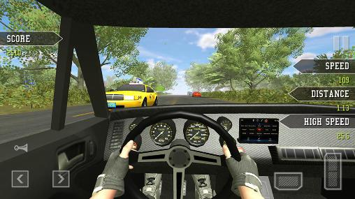 Highway traffic driving для Android