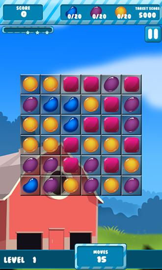 Candy sugar: Heroes für Android