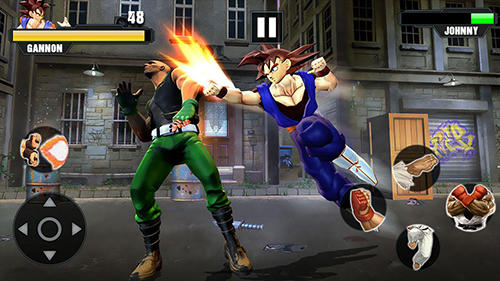 Super power warrior fighting legend revenge fight in English