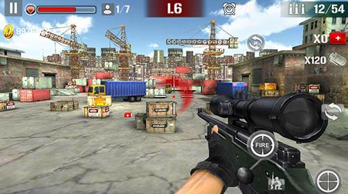 Jeux de tir à la première personne Sniper shoot fire war en français