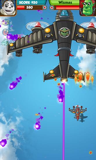 Flugspiele Panda commander: Air combat auf Deutsch