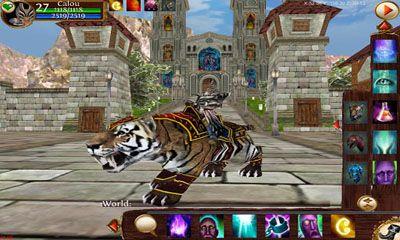 Midgard Rising 3D MMORPG screenshot 1