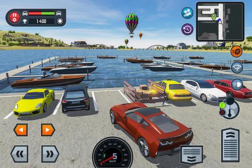 Car driving school simulator para Android