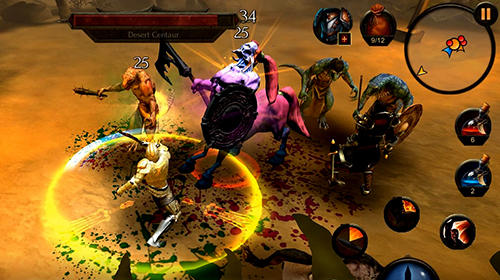 Action RPG Arcane quest legends in English