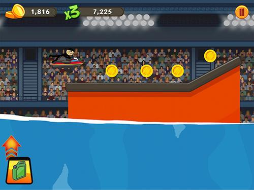 Arcade-Spiele Stickman surfer für das Smartphone