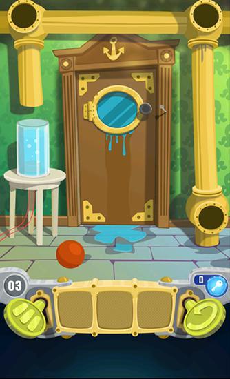 Abenteuer-Spiele 100 doors 2016 für das Smartphone