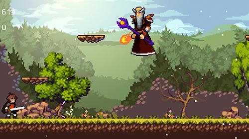 Apple knight: Action platformer скриншот 1