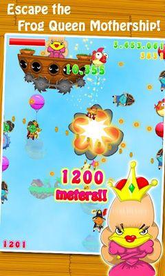 Arcade-Spiele Pop the Frog für das Smartphone