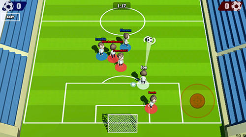 Real Time Champions of Soccer pour Android