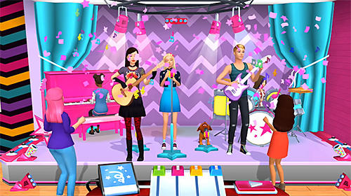 Barbie dreamhouse adventures завантажити на Sony-Ericsson