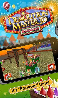 Demolition Master 3d. Holidayscapturas de pantalla