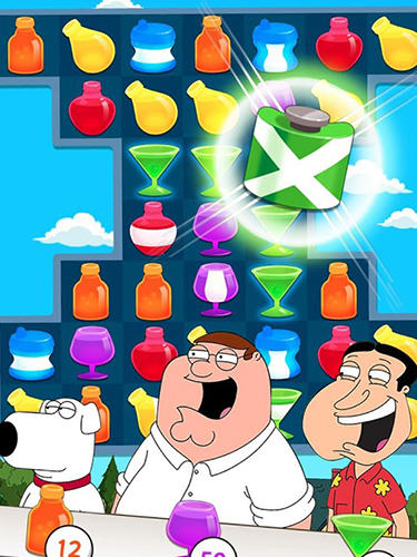 Match 3 games Family guy another freakin' mobile game in English
