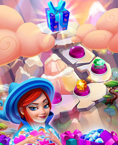 Arcade Charms of the witch: Magic match 3 games für das Smartphone