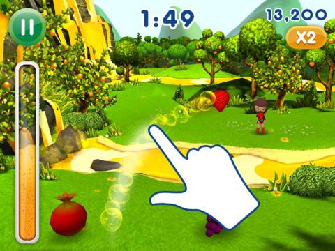 Fanta Früchte Werfen 2 für iPhone