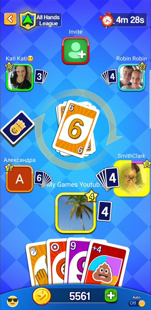 Card Party! - UNO with Friends Online, Card Games captura de pantalla 1