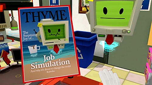 Job simulator screenshot 1