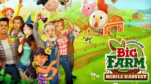 Big farm: Mobile harvest скріншот 1
