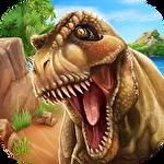 Jurassic dino island survival 3D Symbol