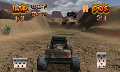 Monster Wheels Offroad capture d'écran