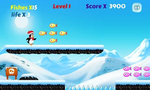 Arcade-Spiele Polar penguin run für das Smartphone