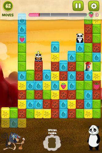Screenshot Panda Jam auf dem iPhone