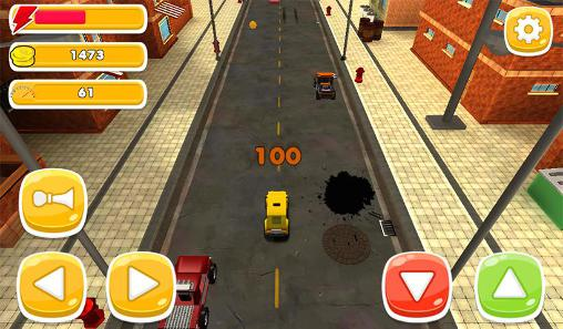 Mini vehicles run Screenshot