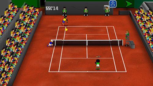 Pixelspiele Tennis champs returns auf Deutsch
