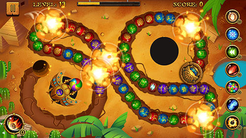 Jungle marble blast für Android