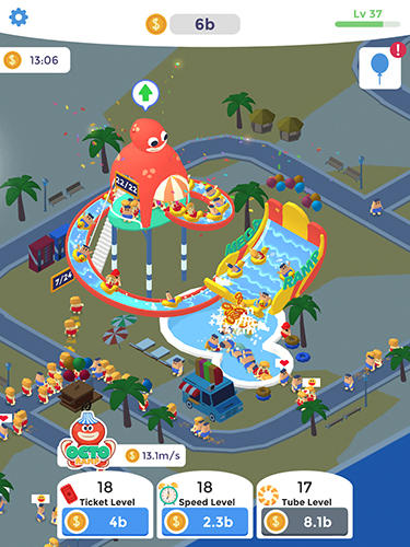 Idle aqua park for Android