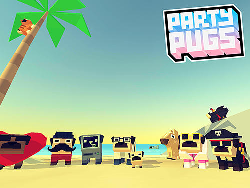 Party pugs: Beach puzzle go! capture d'écran
