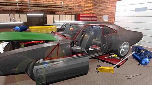 Fix my car: Classic muscle car restoration captura de tela 1