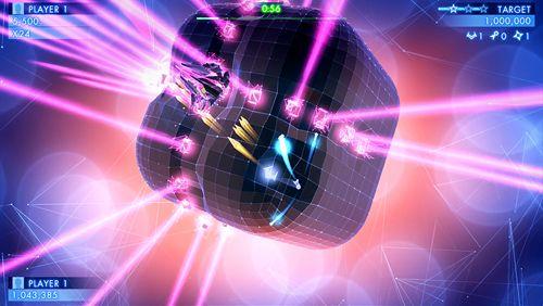 Arcade-Spiele: Lade Geometrie-Krieg 3: Dimensionen auf dein Handy herunter