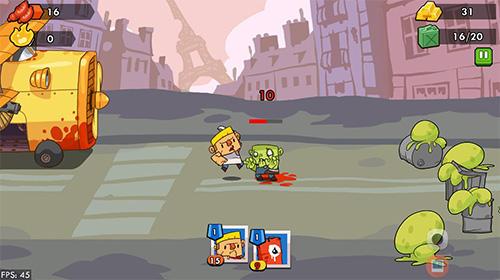 Action Zombie defense by DIVMOB für das Smartphone