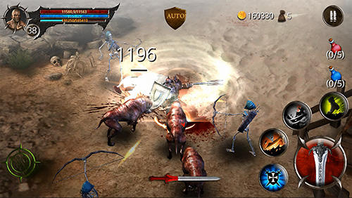 Blood warrior: Red edition pour Android