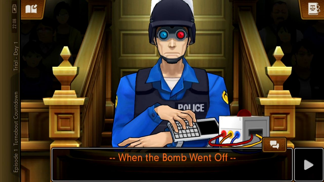 Ace Attorney: Dual Destinies capture d'écran 1