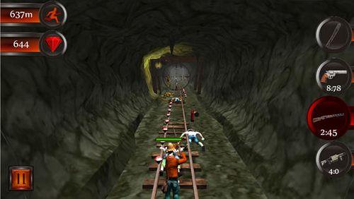 Screenshot Höhlenflucht auf dem iPhone