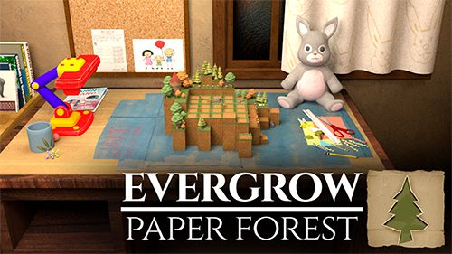 логотип Бурный рост: Бумажный лес