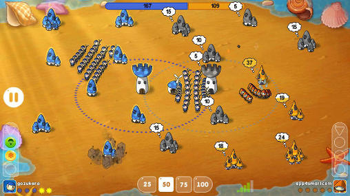 Mushroom wars: Space screenshot 3