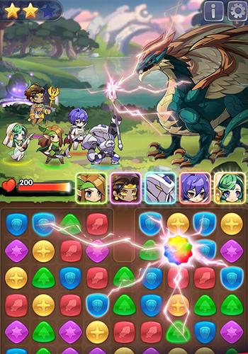 3 Gewinnt-Spiele Puzzle ark auf Deutsch