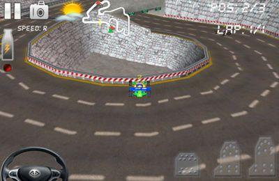 Circuito de carrera 2 - Las mejore buggy-competiciones 3D para iPhone gratis