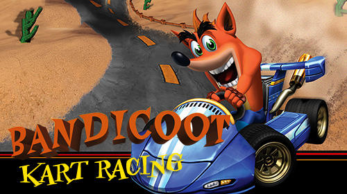 Bandicoot kart racing icono