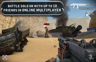 Captura de tela Campo de batalha 2 no iPhone
