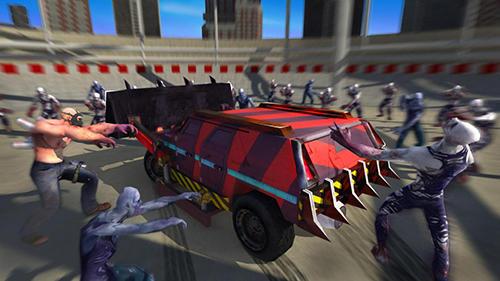Zombie smash: Road kill Screenshot