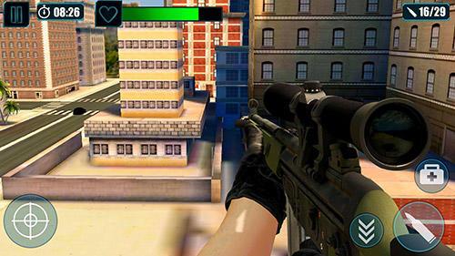 FPS-Spiele Scum killing: Target siege shooting game auf Deutsch