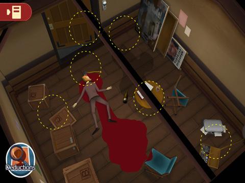 Screenshot Layton Brüder: Geheimnisvoller Raum auf dem iPhone