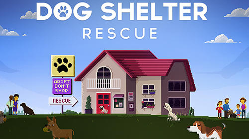 标志Dog shelter rescue