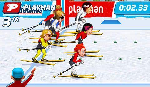 Playman: Winterspiele für iPhone