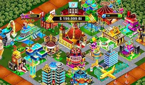 Wirtschafts-Strategien Fantasy Las Vegas: City-building game auf Deutsch