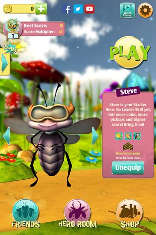 Les scarabés contre les extraterrestres en russe