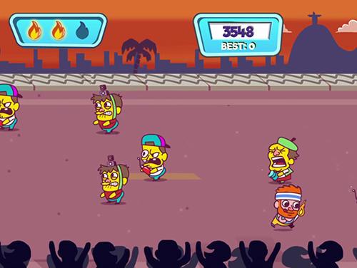 Juegos de arcade Keep it burning! The game para teléfono inteligente
